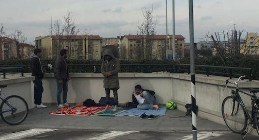 Ottenuto lo status, ora vivono nel parcheggio dell'Appiani