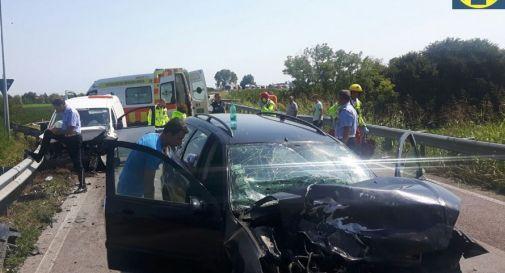 l'incidente di oggi a Salgareda