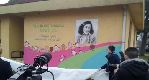 il murale inaugurato sabato mattina
