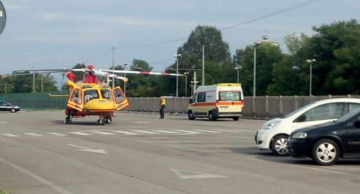 ambulanza ed elisoccorso questa mattina a Motta