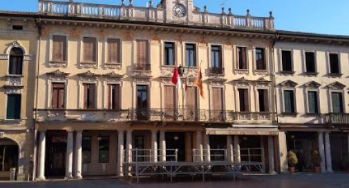 il municipio di Motta senza bandiera europea