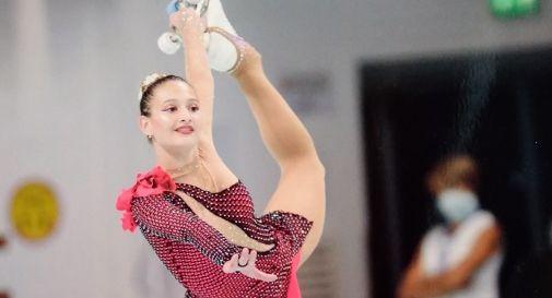 Pattinaggio Artistico / Martina Nespolo d'argento ai Campionati italiani di San Marino