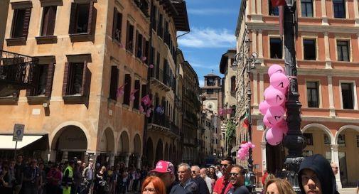Treviso è rosa, in migliaia per salutare il Giro