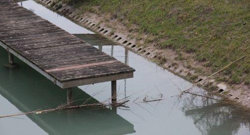 il pontile dove è stata salvata la ragazza