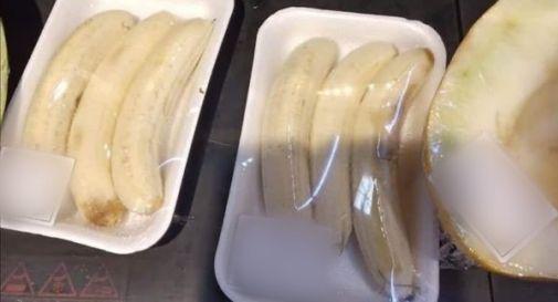 Banane già sbucciate