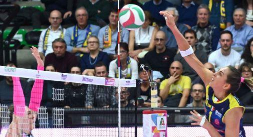 Imoco, vittoria anche contro Caserta