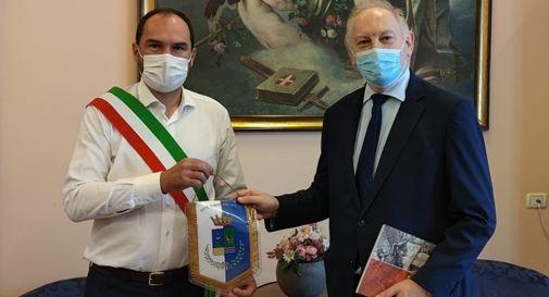 Il sindaco Bortolato e il Questore di Treviso