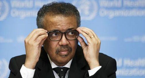 Il direttore generale dell'Organizzazione mondiale della sanità, Tedros Adhanom Ghebreyesus