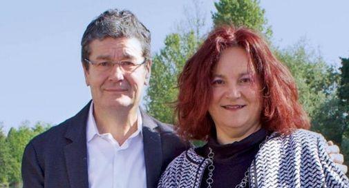 Il sindaco di Casier Renzo Carraretto e l'assessore Leonella Mestrinerlo