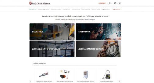 Dalle segatrici alle saldatrici, Macchinato.com: l'e-shop con marchi leader e occasioni di risparmio