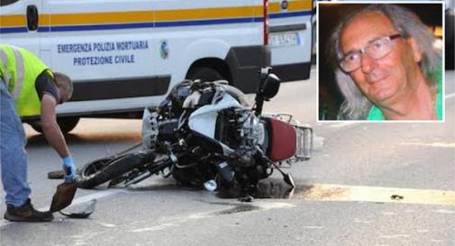 L'incidente in cui ha perso la vita Antonio Pozzobon (nel riquadro)