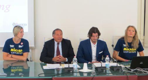 La firma del protocollo tra Ulss e Imoco Volley