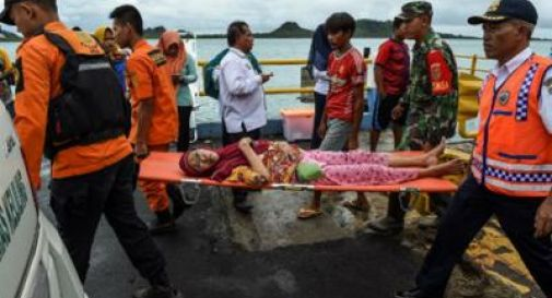 Tsunami in Indonesia, 430 i morti