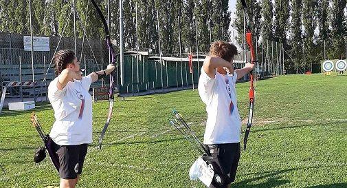Justine Camelato e Riccardo Luzza