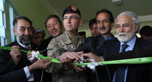 Inaugurati gli ultimi tre edifici donati dall'Italia alla città di Herat
