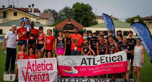 Cadetti, Atl-Etica San Vendemiano trionfa nel campionato veneto di società