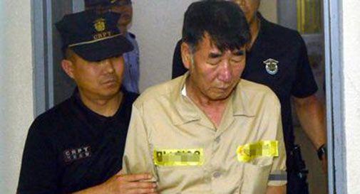 Traghetto affondato in Sudcorea, chiesta la pena di morte per il capitano