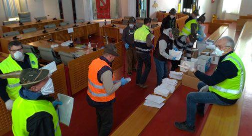 Arrivano le mascherine della Regione a San Vendemiano: saranno consegnate porta a porta