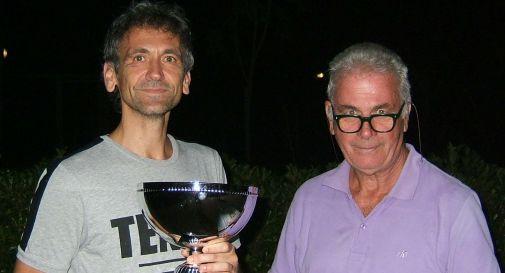 Il vincitore Mandarà con Tonietto