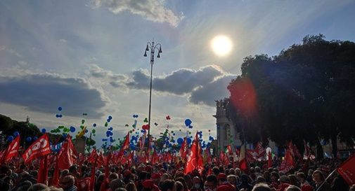 Manifestazione Cgil 16 ottobre 2021