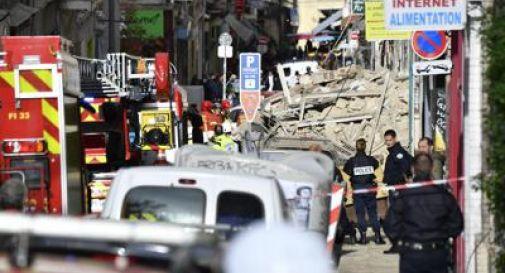 Crollati due palazzi nel centro di Marsiglia