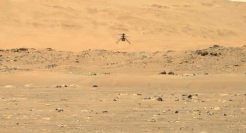 La NASA estende la missione di Ingenuity Helicopter su Marte