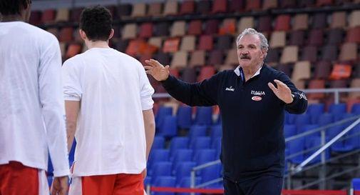 Italbasket al debutto contro la Macedonia del Nord