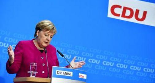 Merkel non si ricandida