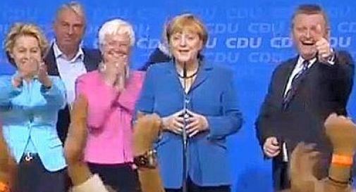Voto in Germania, trionfa Merkel: