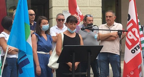 Monica Michielin presidio Treviso