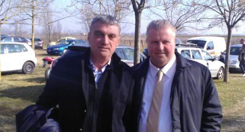 a sinistra Valerio Nadal, a destra Giorgio Polegato
