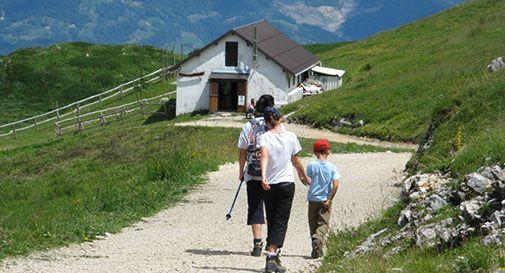 La terrazza sulle Dolomiti
