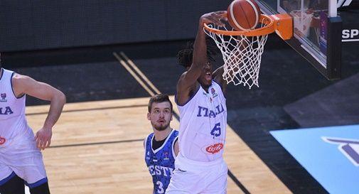 Italbasket nuovamente in campo: alle 12.30 sfida all'Estonia