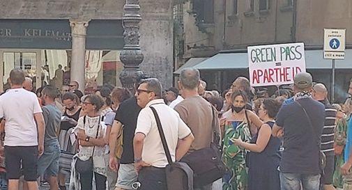 No Green Pass in Piazza dei Signori