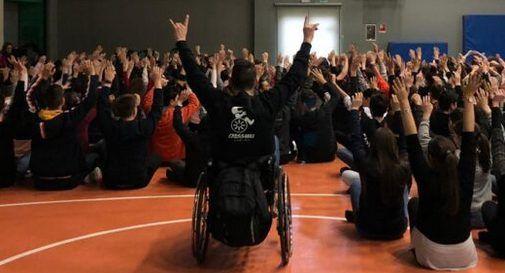 All'Istituto Sartor si parla di disabilità agli studenti attraverso il motociclismo