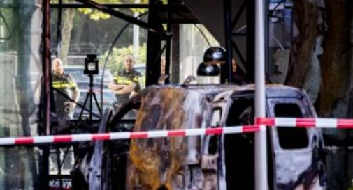 Olanda, furgone contro sede De Telegraaf
