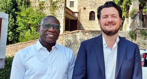 Stefano Battistella e Ousmane Cissè