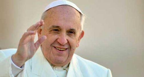 Due bambini della diocesi da Papa Francesco