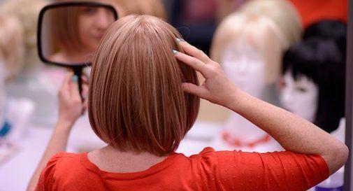 parrucche per donne malate