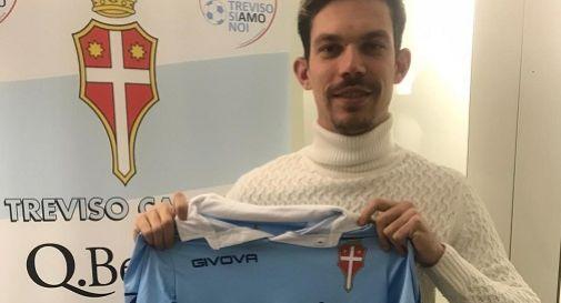 Al Treviso arriva il centravanti Edoardo Pignata