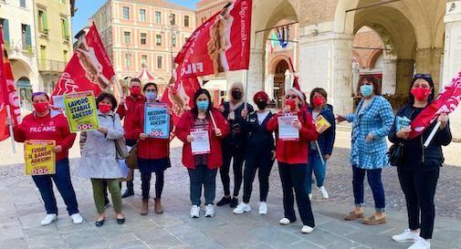 protesta lavoratrici Ata