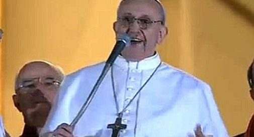 Francesco! Il papa col saio