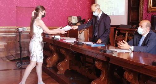 Giorgio Anselmi, premiazione concorso