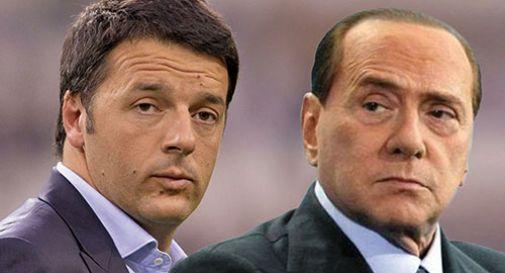 Mattero Renzi e Silvio Berlusconi