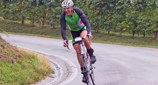 Rossano Galtarossa alla Prosecco Cycling