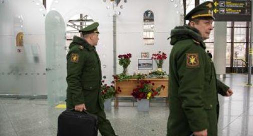 Aereo russo precipitato, Mosca: