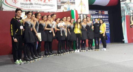 Lo Skating Club Mottense Italian Show vicecampione italiano