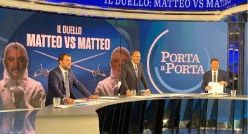 Renzi-Salvini, lotta senza quartiere tra i due leader