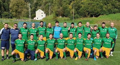 La squadra del San Giuseppe Amatori