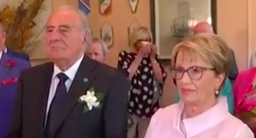 Gentilini e Maria Assunta sposi